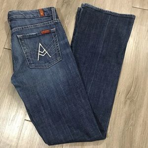 "7 for all Mankind B(air) ""A pocket"" Flare Jeans"